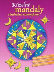 Kúzelné mandaly s farebnými samolepkami (fialová)