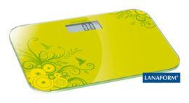 LANAFORM - Electronic Scale digitálna osobná váha zelená