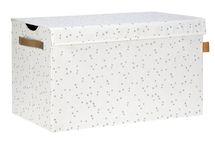LÄSSIG - box na hračky, Toy Trunk Allover Speckles