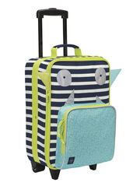 LÄSSIG - detský kufrík, Trolley Little Monsters bouncing bob