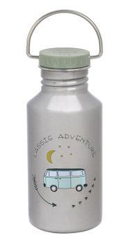 LÄSSIG - fľaša Bottle Stainless Steel Adventure Bus