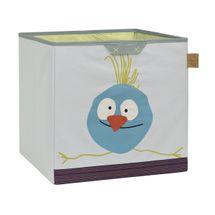 LÄSSIG - kôš na hračky, Toy Cube Storage Wildlife birdie