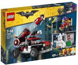 LEGO - Batman Movie 70921 Harley Quinn™ a útok delovou guľou