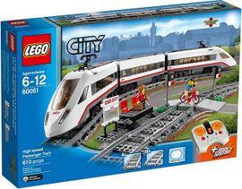 LEGO - City 60051 Vysokorýchlostný osobný vlak