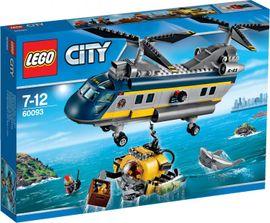 LEGO - City 60093 Vrtuľník pre hlbinný morský výskum