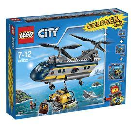 LEGO - City 66522 Veľká sada Podmorská výskumná expedícia 4v1
