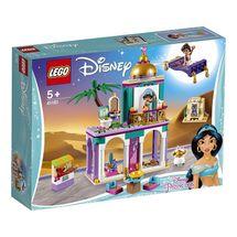 LEGO - Disney Princess 41161 Palácové dobrodružstvá Aladina a Jazmíny