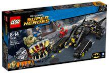 LEGO - Super Heroes 76055 Batman: Killer Croc Zničenie v stokách