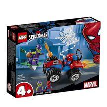 LEGO - Super Heroes 76133 Spider-Man a naháňačka na autách