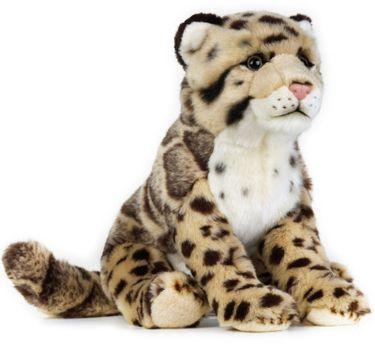 LELLY - National Geografic Veľké mačkovité šelmy 770741 Leopard obláčikový - 25 cm