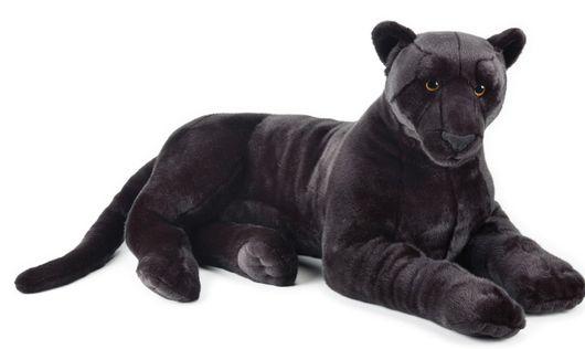 LELLY - National Geografic Veľké mačkovité šelmy 770756 Čierny panter - 105 cm