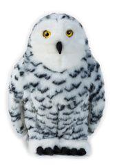 LELLY - National Geografic Zvieratká zo Severnej Ameriky 770739 Sova snežná - 27 cm