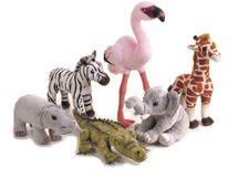 LELLY - National Geographic Mláďatká zvierat zo savany assort 770702 - 22 cm