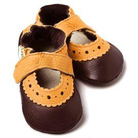 LILIPUTI - Sandále Sahara hnedé - veľ. S (6-12 mesiacov)