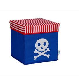 LOVE IT STORE IT - 2 v 1 stolička na sedenie a úložný box Piráti - pirát