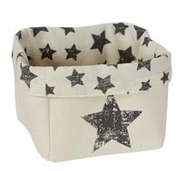LOVE IT STORE IT - Box na hračky, malý košík - prírodná farba, Star