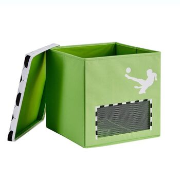 LOVE IT STORE IT - Box na hračky s krytom - Futbal, Goooal, veľký