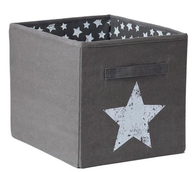 LOVE IT STORE IT - Veľký box na hračky - šedý, Vintage Star