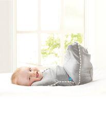 LOVE TO DREAM - Rýchlozavinovačka SwaddleMe Up Original, Grey 3 - 6 kg