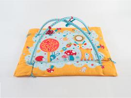 LUDI - Hracia deka s hrazdou Králik
