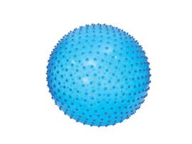 LUDI - Skákacia a masážna lopta 45cm modrá