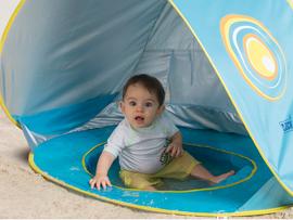 LUDI - Stan s bazénom anti-UV pre bábätko