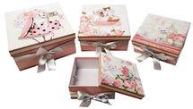 MAKRO - Darčeková papierová krabica - 4 ks