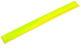 MAKRO - Prúžok reflexný 30cm, žltý