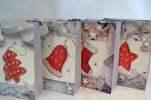 MAKRO - Taška vianočná 42x31x12cm mix