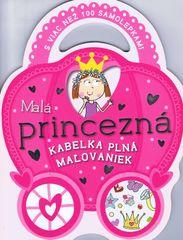 Malá princezná - kabelka plná maľovaniek - autor neuvedený