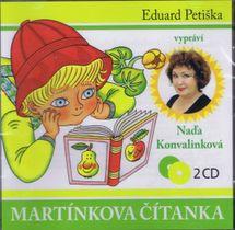 Martínkova čítanka - 2 CD (Čte Naďa Konvalinková) - Eduard Petiška