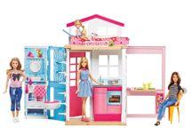 MATTEL - Barbie Dom 2V1 A Bábika
