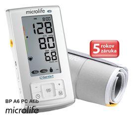 MICROLIFE - BP A6 PC Afib automatický tlakomer na rameno