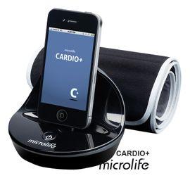 MICROLIFE - CARDIO+ automatický tlakomer pre iPhone, iPod, iPad