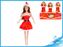 MIKRO TRADING - Bábika vianočná 29cm