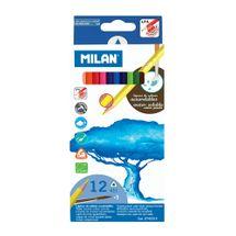 MILAN - Pastelky akvarelové 12ks so štetcom
