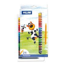 MILAN - Plastické pastelky 24 ks