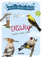 Môj malý sprievodca prírodou: Vtáky - Michel Luchesi, Maud Bihanová