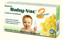 MORCHELLA - Morchella Dojčenská odsávačka hlienov - Arianna Baby-vac 2 s čistiacim kefkou