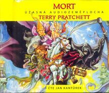 Mort - Úžasná audiozeměplocha - 9 CD - Terry Pratchett
