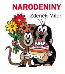 Narodeniny, 2. vyd. (leporelo) - Miler Zdeněk