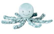 NATTOU - Prvá hračka bábätka chobotnička PIU PIU Lapidou mint 0m+