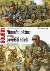 Němečtí pěšáci versus sovětští střelci - Plán Barbarossa 1941 - David Campbell