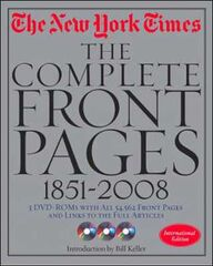 New York Times 1851-2009 front pages
