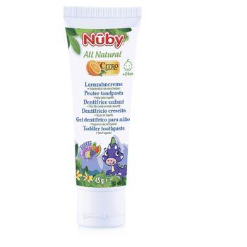 NUBY - Pasta zubná destká All Natural 45g