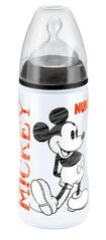 NUK - FC+ Fľaša  DISNEY-Mickey PP 300ml,SI, Čierna