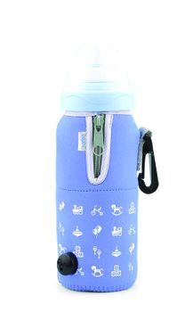 NUVITA - Cestovný ohrievač fľaše so zipsom, modrá