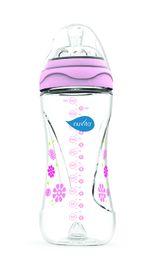NUVITA - Fľaštička s anti-kolickým systémom 330 ml - Pink