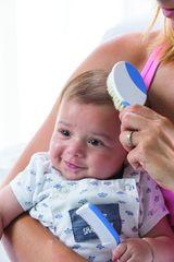 NUVITA - Sada kief na vlasy pre bábätká - modrá