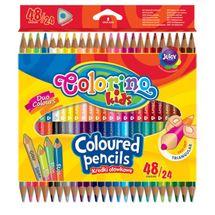 PATIO - Colorino pastelky dvojfarebné Trio 48 farieb